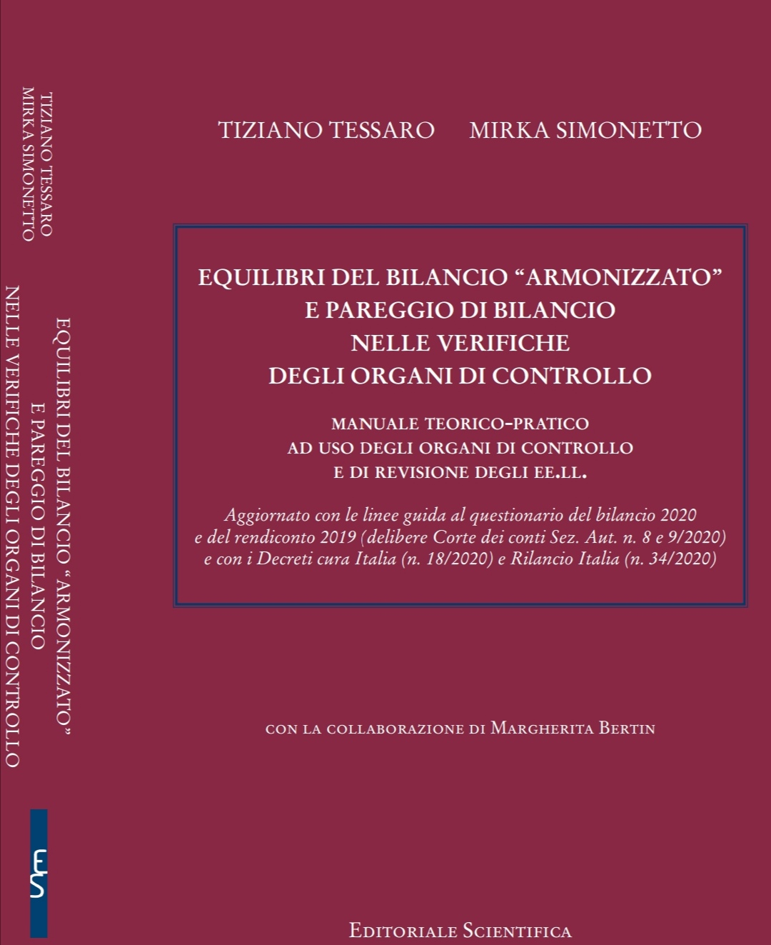 Screenshot Libro Tessaro